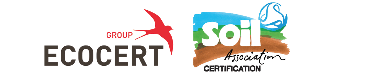 Ecocert-e-Soil-Association